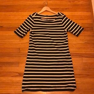 Gap navy striped dress